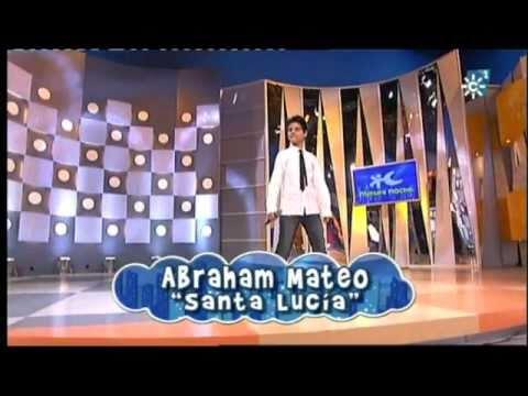 Abraham Mateo (12 años) - SANTA LUCIA (Miguel Rios) - Menuda Noche
