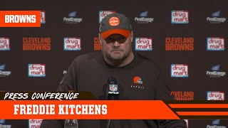 Freddie Kitchens Proud of Special Teams' Battle vs. Ravens | Cleveland Browns
