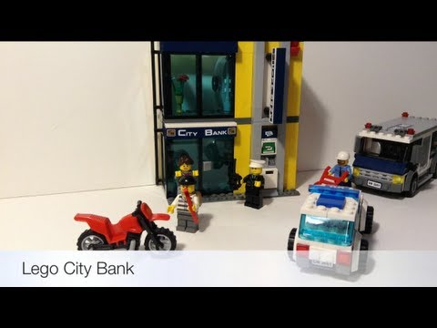 Lego City Bank Review