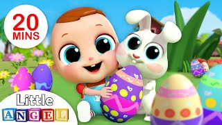 Baby's First Egg Hunt | Surprise Egg Song | Nursery Rhymes & Kids Songs - Little Angel