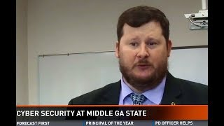 Middle Georgia State students fight cyber crime