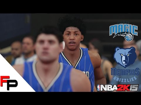 NBA 2K15 Gameplay - Orlando Magic at Memphis Grizzlies