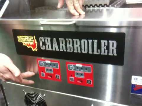 Charbroiler 24&quot; Wood Pellet fired by Cookshack CB024