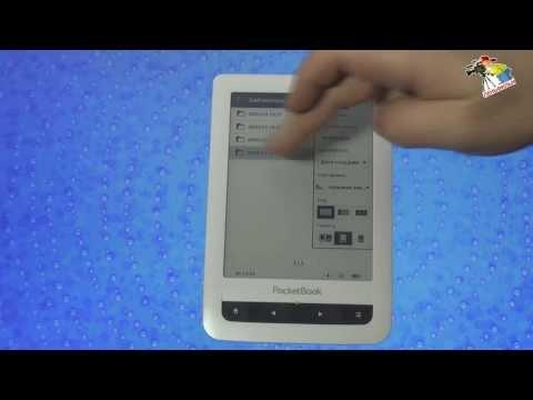 Pocket Book Touch электронная книга. Инструкция от Леньфильм