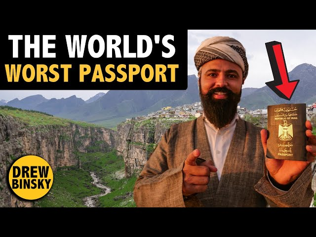 Traveling with the WORLD39S WORST PASSPORT IRAQ