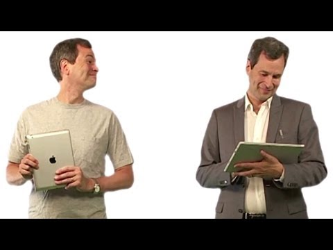 Surface Pro 3 Review - David Pogue's Apple-style Ad