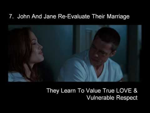 Brad Pitt and Angelina Jolie - Mr. and Mrs. Smith: GOD in Movies, A Hiden Agenda (Part 2)