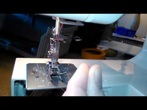 how to thread a janome sewing machine