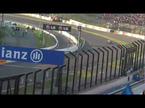 F1 鈴鹿 2012 小林可夢偉3位表彰台!ゴールシーン! ~ Kamui Kobayashi~