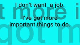 Watch Something Corporate I Dont Want A Job video