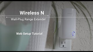 How to Set Up Wireless N Wall-Plug Wi-Fi Range Extenders