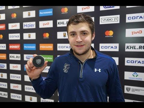 Андрей Алтыбармакян - о первой шайбе в КХЛ