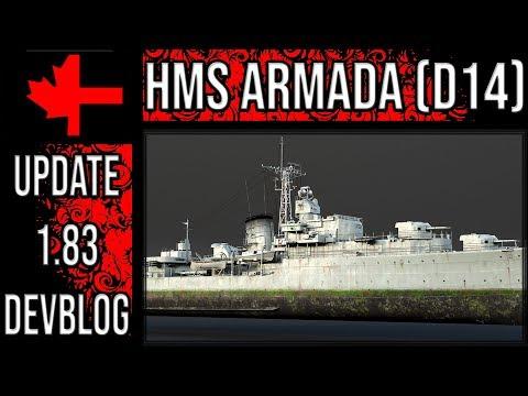 War Thunder - Devblog - HMS Armada (D14)