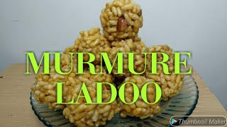 Puffed Rice Laddo, Mamra Ladoo, Lai Ladoo, murunde, Murmure ladoo, Dry fruit ladoo