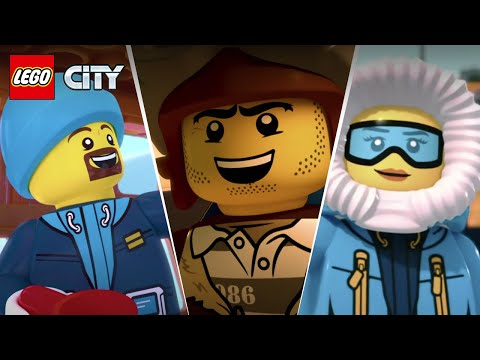LEGO Arctic 2018 Animation Movies Compilation - Full Episodes from LEGO City Arctic