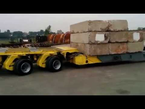 Modular Trailers-Goldhofer-Multi Axle-Hydraulic Trailers- China Heavy Transporter