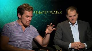 The Shape Of Water Michael Shannon And Michael Stuhlbarg