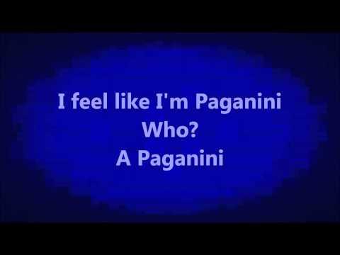 Andy mineo - Paganini feat KB and Canon Lyrics