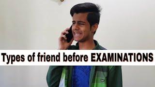 Types of friends before EXAMINATIONS!  // Keshav Bhatnagar