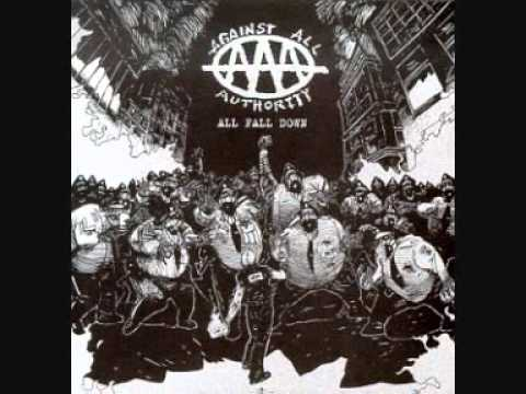 Against All Authority - We All Fall Down