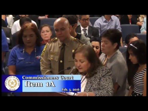 Commissioners Court 02/03/2016