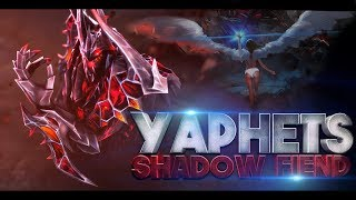YaphetS The World's Best Shadow Fiend Player? EPIC Gameplay Compilation Highlights Dota 2