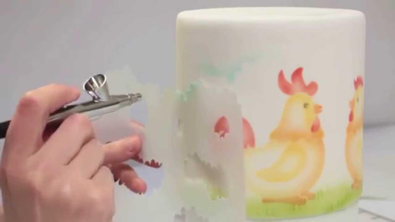 Аэрограф для тортов