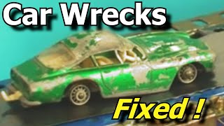 Wrecked Toy Cars Made Good - coche de juguete -carro de brinquedo