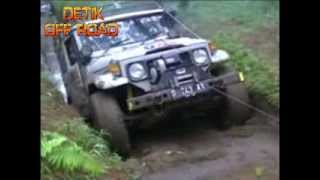 "VIDEO OFF ROAD INDONESIA ""OFF ROAD WINCH LAND CRUISER 4X4 Team OFF ROAD JEEP INDONESIA"""