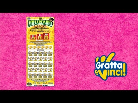 Gratta e Vinci: Maxi Miliardario - Tagliando 12 [Serie 24]