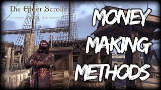 Money Making Methods in Elder Scrolls Online (ESO Guide)