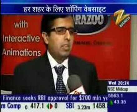 Carazoo.com on Zee-Hindi TV News Channel