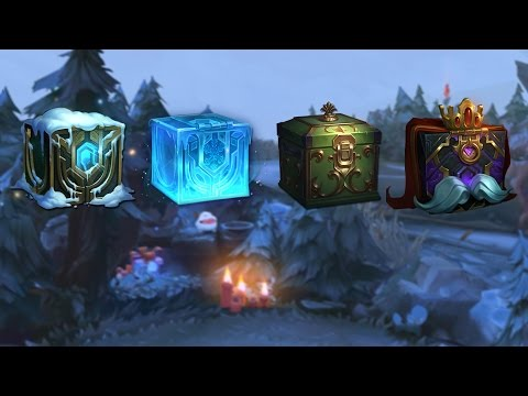 Snowdown 2016 Crafting | Intro Video - League Of Legends