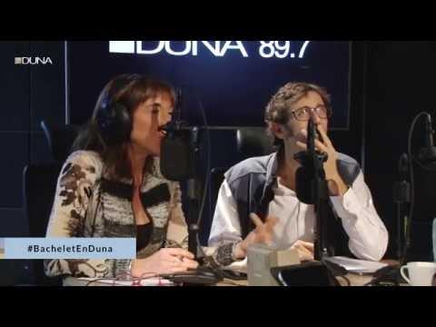 La Presidenta Michelle Bachelet en Radio Duna
