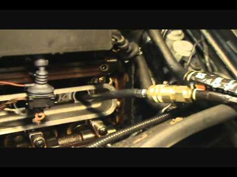 BMW 740- E38 cyl. leakage  test