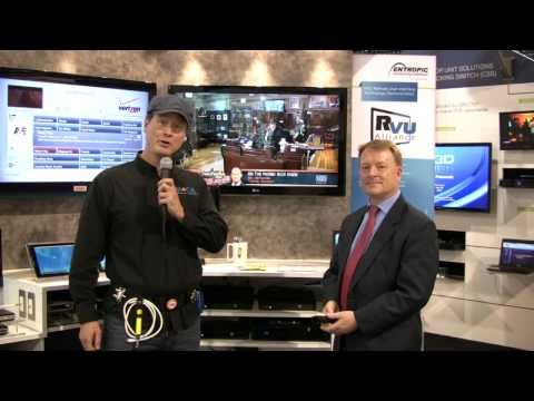 CES 2011, MoCA Guy talks about DirecTV UI and Multi Room DVR services