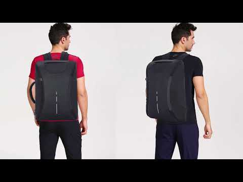 Travel Laptop Backpack Business Durable Laptops Backpack with USB Charging Port
