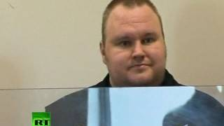First video_ Megaupload founder Kim Dotcom appears in court