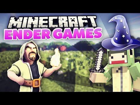 Ich bin ein ZAUBERER! - Wizard Kit! Minecraft ENDER GAMES! #08 | unge