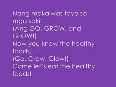 Nutrition Month Jingle (kis' Seniors 2012-2013) video
