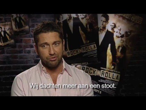 Interview Gerard Butler about RocknRolla