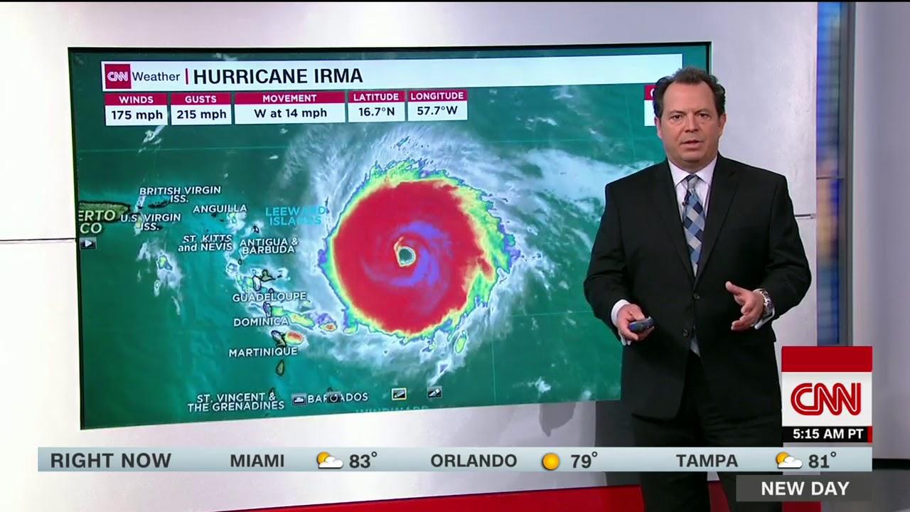 Hurricane Irma not Category 5 storm, Florida declares emergency