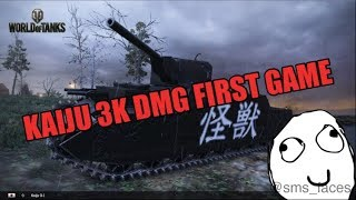3K damage Game In The Kaiju My First Game (World Of Tanks Xbox)