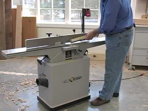 Using a Jointer to Taper Legs For Furniture