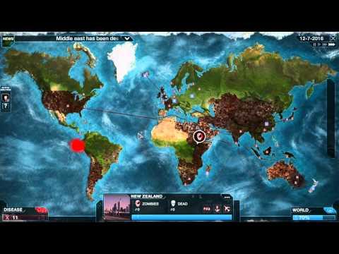 Plague inc: Evolved - Ep 12 -Necroa virus MEGA BRUTAL! ~4 stars~