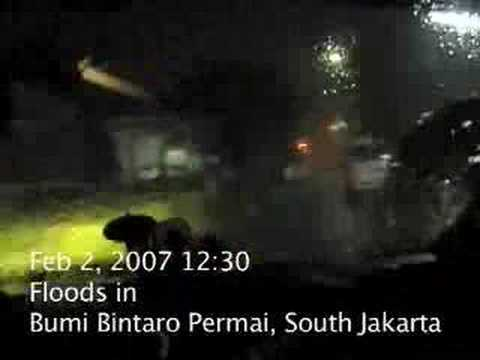 Bintaro Floods video