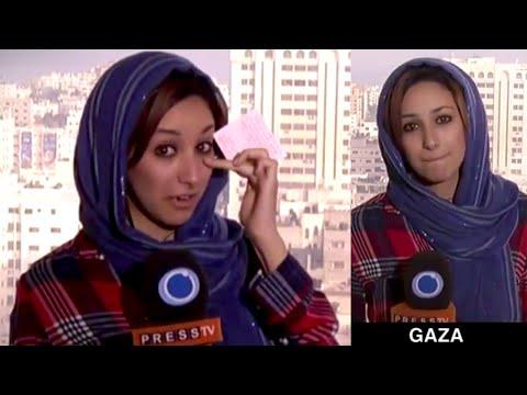 Reporter Breaks Down while Reporting on Israeli Killing of Palestinian Children in Gaza