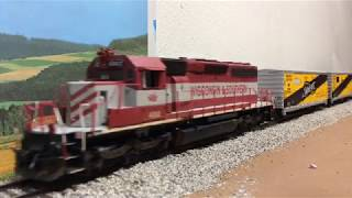Ho Scale Ops Session With New Locomotives and Cars