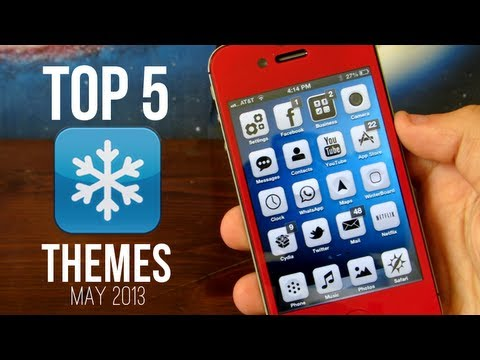 Top 5 Best Winterboard Themes! - May 2013