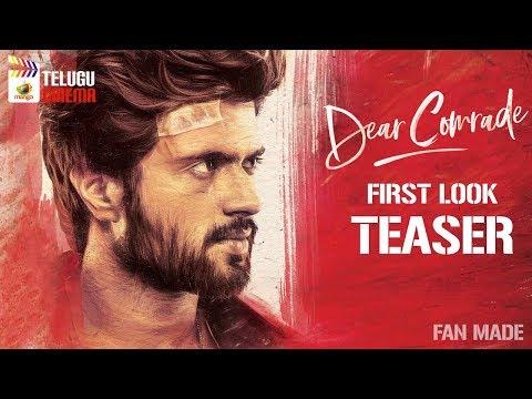 Vijay Devarakonda Dear Comrade TEASER | Rashmika Mandanna | Bharat Kamma | FAN MADE | Telugu Cinema